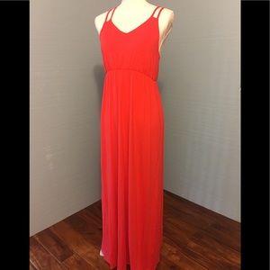 Kenard Red sun dress